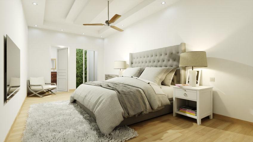 perspective 3d maison rénovation freelance chambre