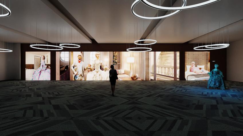 salle de convention évènementiel - rough hôtel Intercontinental
