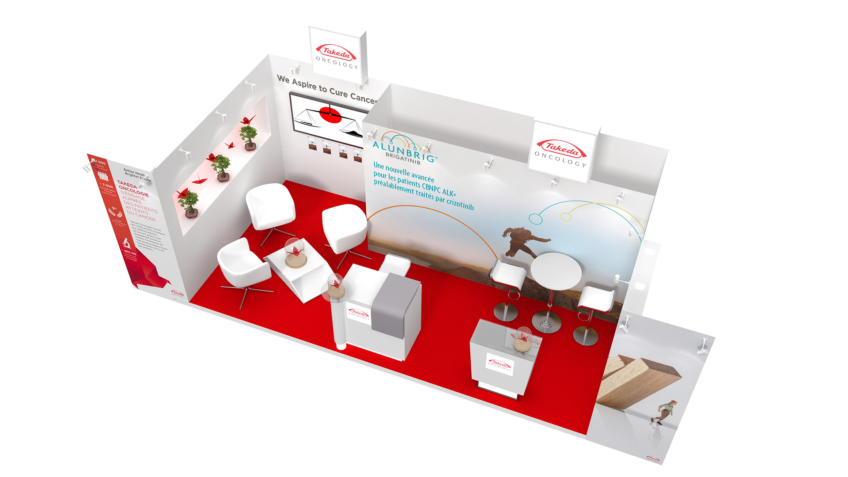 concepteur stand médical pharmaceutique takeda - freelance
