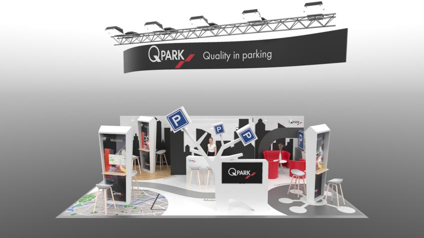 créateur de stands d'exposition Qpark