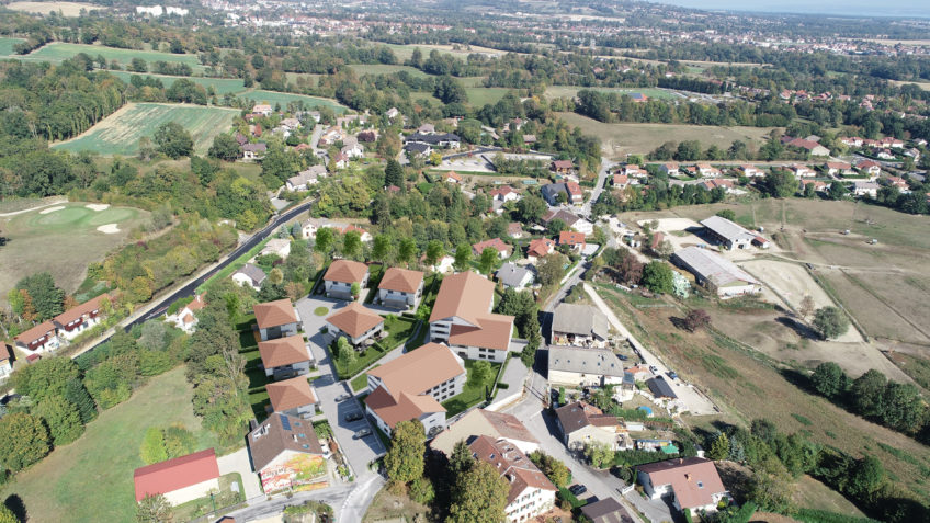 freelance 3d immobilier grenoble - integration photo drone