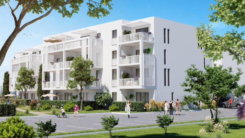 infographiste 3d Montpellier freelance - perspectives immobilière