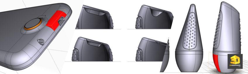 modeleur 3D CAO freelance - services modélisation 3D